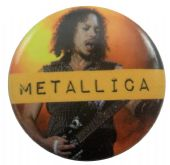 Metallica - 'Kirk Hammett' Button Badge